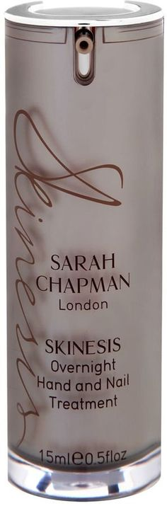 Pin for Later: The Helping Hand You Need to Get Your Palms in Perfect Shape Sarah Chapman Skinesis Overnight Hand and Nail Treatment Sarah Chapman Skinesis Overnight Hand and Nail Treatment (£36)