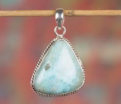 Silver Pendants – Larimar Pendant, 925 Silver Pendant, Boho Pendant – a unique product by Midas-Jewelry on DaWanda