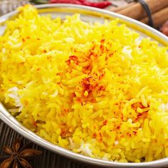 This recipe is simple in its explanation of how to make saffron rice, with its fluffy delicate flavor.. How To Make Saffron Rice Recipe from Grandmothers Kitchen.