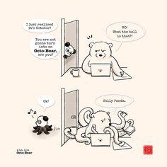Panda and Polar Octo-Bear!
