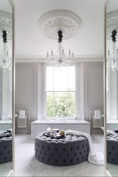 a bathroom you never want to leave...  luxurious interior design ideas perfect for your projects. #interiors #design #homedecor www.covetlounge.net  For more please visit: http://www.flyfreshforever.com