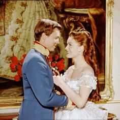 couple, sweet, and franz and sissi Princesa Sissi, Impératrice Sissi, Empress Sissi, Luchino Visconti, Three Daughters, Actrices Hollywood, Alain Delon, Film Serie, Queen