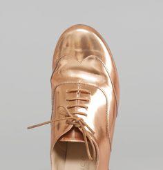 Richelieux Jaris Bronze Maurice Manufacture en vente chez L'Exception
