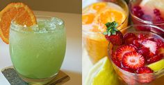 Drink Up: 7 Healthy Mocktail Recipes - using this for the DDs at the parties