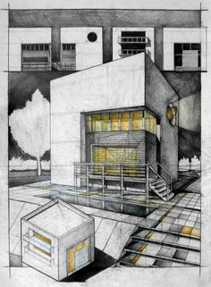Modern Architecture Sketches modern architecture sketch | modern architecture sketches