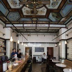 LIPSIA Café Fleischerei Un'ex macelleria di inizio secolo. Fa parte della guida ai luoghi segreti della città Hidden Leipzig