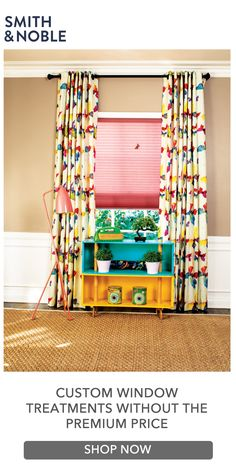 Hand-crafted in the USA using precision pattern-matching, double-turned hems and color-coordinated thread. Custom Drapes, Diy Window Treatments, Window Decor, Custom Drapery, Diy Window, Bold Bedroom, Home Decor, Custom Window Treatments, Trend Fabrics