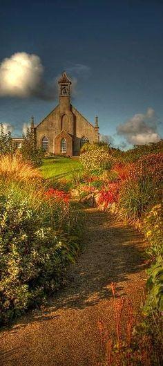 Weisdale Kirk,Weisdale,Shetland Isles, Scotland, UK