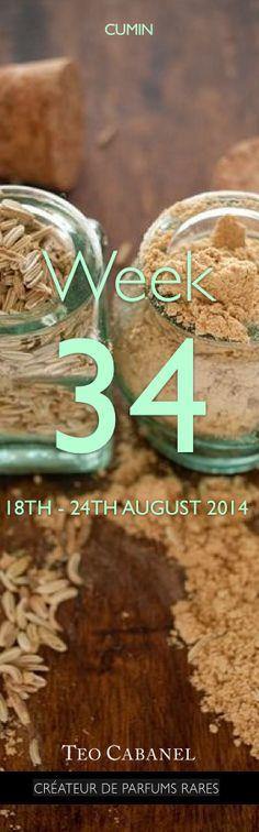 ✮ Ingredient of the Week 34 : Cumin Read more on Téo Cabanel Blog : http://lescarnetsdeteocabanel.com/2014/08/18/cumin/