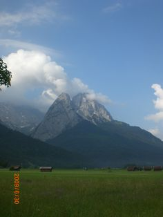 Garmish, Germany in Bavarian Alps.  One of my favorite places on earth...