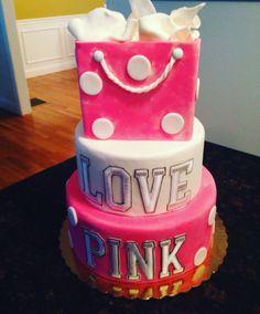 Victoria Secret Pink Cake