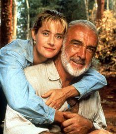 Nice shot of Sean with Lorraine Bracco in MEDICINE MAN ('92)