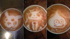 Geeky Latte Art