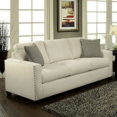 Hokku Designs Oldfields Cotton Sofa Deals Low Price-image