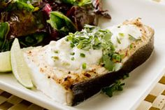 Create a simple topping for Alaska halibut with this Green Chile Blanket recipe.