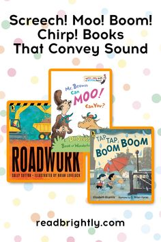 """Whether it's the """"wee-ooh! wee-ooh!"""" of a fire engine or the """"cheep! cheep!"""" of a little chick, sound words can bring books to life for children and help build early literacy skills. Here are nine noisy favorites for babies, toddlers, and preschoolers. Best Children Books, Toddler Books, Childrens Books, Literacy Skills, Early Literacy, Speech Language Pathology, Speech And Language, Kids And Parenting, Parenting Hacks"""