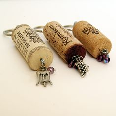 Learn how to make a key chain out of wine corks with a tutorial from Simple Crafter.