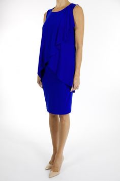 Joseph Ribkoff find it and other fashion trends. Online shopping for Joseph Ribkoff clothing. Beautiful joseph ribkoff dress in a gorgeous royal blue. Joseph Ribkoff Dresses, Online Shopping Australia, Royal Blue Dresses, Dresses Australia, Blue Fashion, New Look, Color Pop, Peplum Dress, Feminine