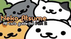 "Neko Atsume all cats list part 1 - Letters ""A"" through ""M"" | Neko Atsume"