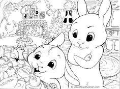 Is dinner soon? (BunnyStories2) by Stasushka.deviantart.com on @DeviantArt
