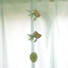 Package: 3 fishes and water circle paper. Fish Mobile, 3 Fish, Mobiles, Paper, Mobile Phones