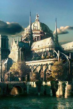 ♔ Ile de la Cité, Notre Dame Catheddral, Paris