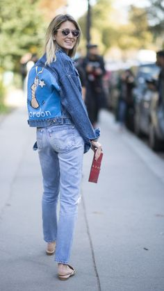 23 Ways to Flatter Your Butt With the Clothes You've Already Got Denim Fashion, Fashion Photo, Womens Fashion, Street Style, Street Chic, Estilo Denim, Mode Jeans, Casual Chic Style, Rue