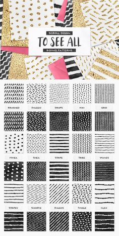 Presenting 100 Glitter Illustrator Layer Styles! This set is jam-packed with 100 unique glitter styles for Illustrator and l Glitter Projects, Blog Banner, Layer Style, Mark Making, Fabric Patterns, Design Elements, Grid, Swatch, Pattern Design
