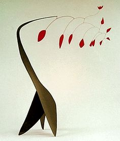 A Calder sculpture