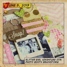 Glitter Girl Adventure 073: Photo Booth Brainstorm by shimelle @2peasinabucket