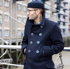 The Real McCoys 1913 Pea coat