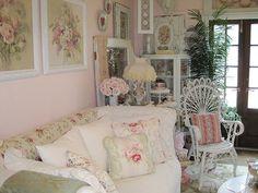 shabby garden room