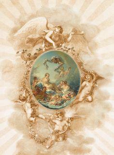 Karen Lavender's kunst en ambacht blog: Angel ovale