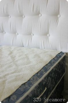 LIFEHACK - Use a rug gripper between mattress topper and mattress to keep the topper in place. No more slipping and sliding!