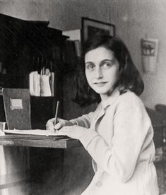 Reading about Anne Frank as a child was partly what inspired me to write at a younger age, I wanted to have journals upon journals full of my writing and scribbles. Anne Frank is a huge inspiration to me Women In History, World History, World War, History Pics, Jewish History, Black History, History Posters, Ww2 Posters, Old Photos