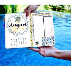 My August monthly spread Finally did a bee theme which I've been dying to do for a while now! Just put up a new YouTube video today showing how I planned this month's spread. If you want a print of this checkout my etsy shop where I'll be selling them for you guys link in my bio . . . . . . #bulletjournal #bulletjournaling #bujo #youtube #youtuber #watercolor #art #floral #paint #drawing #doodle #doodling #painting #journaling #journal #planner #plan #study #calligraphy #lettering #inst...
