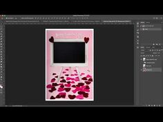 (237) Happy Valentine's day sign tutorial Digital Background Inside the Box - YouTube Happy Valentines Day Sign, Valentines Day Card Templates, Inside The Box, Custom Cards, Photoshop, Digital, Youtube, Photography, Personalized Cards