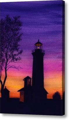 Tibbetts Point Lighthouse Acrylic Print By Michael Vigliotti