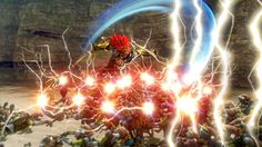 Ganon gets his legacy trident as a new weapon in #HyruleWarriors on #3DS and #WiiU ~ TBR March 25th, 2016. Wii U, Nintendo Wii, Hyrule Warriors, Trident, Got Him, Weapon, March, Zelda, Weapons