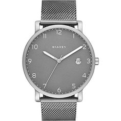 Skagen Mens SKW6307 Hagen Stainless Steel Mesh Watch ** You can get additional details at the image link. (Note:Amazon affiliate link)