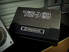 Pioneer TS-X9 box speakers (decypher the code) Tags: car vintage box 80s audio pioneer speakers vision:text=0702 vision:car=0666
