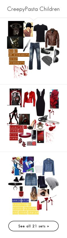 """""""CreepyPasta Children"""" by emma0502 ❤ liked on Polyvore featuring Simplex Apparel, Schott NYC, Vivienne Westwood Anglomania, Converse, Outdoor Research, ZeroUV, OXO, men's fashion, menswear and WIDEMOUTH"""
