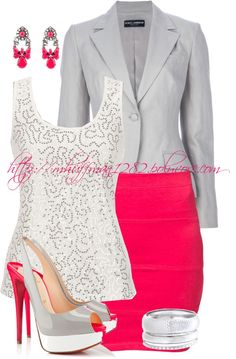 """""""Peep Toe Pumps"""" by mhuffman1282 ❤ liked on Polyvore"""