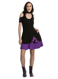 Disney Maleficent Cold Shoulder DressDisney Maleficent Cold Shoulder Dress,