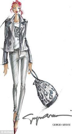 Les dessins de mode que j aime