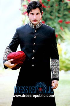 Style DRM1030, Product code: DRM1030, by www.dressrepublic.com - Keywords: Amir Adnan Shrewani Collection 2010-2011, Sherwani For Men