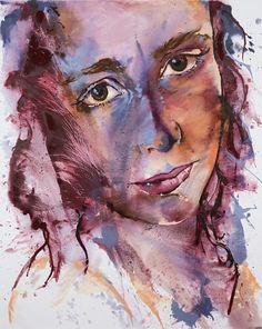 'Suzi', oil on canvas, 120 x 150 cm by Johanna Wilbraham