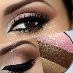 Get this look using the Mary Kay @ Play Baked Eye Trio in Neopolitan! Available at www.marykay.com/kfunk