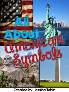 American Symbols Worksheets and Unit Activities with Digital Google Slides