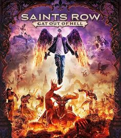 "BLOODY GAME IN ""SAINTS ROW"" GAT OUT OF HELL"" WHERE SATAN WILL GET KILLED BY PLAYERS!"